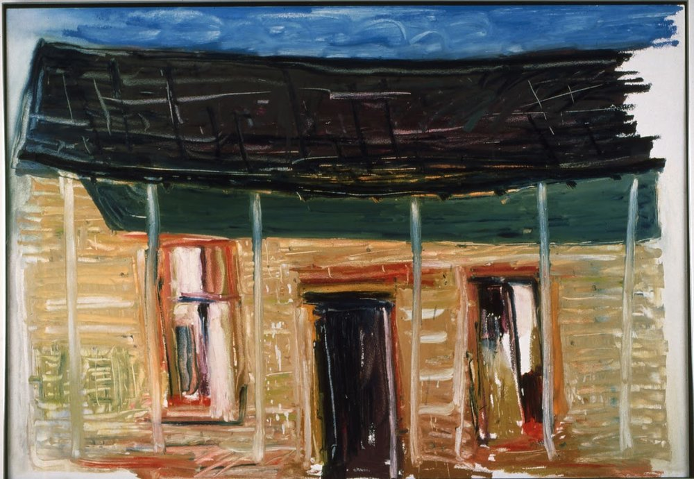 Tenant House   by William Christenberry .