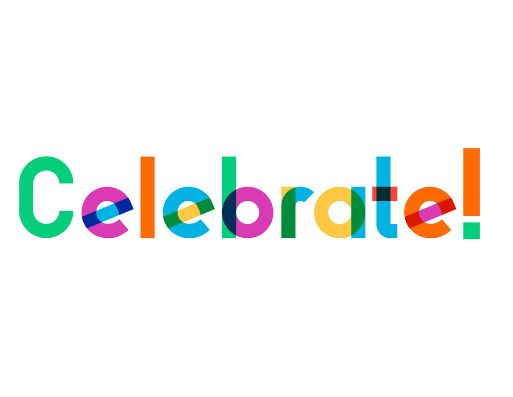 "The title font is name ""gilbert"" in honor of Gilbert Baker, the original creator of the pride flag. It is free online."