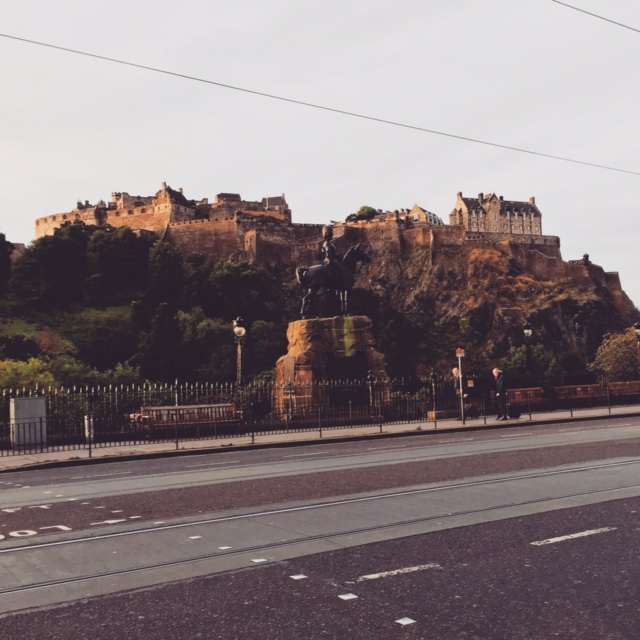 Edinburgh Castle view from Princes Street. Follow our Instagram to see more pictures of Edinburgh.