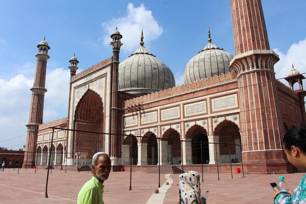 Jama Mosque in New Delhi