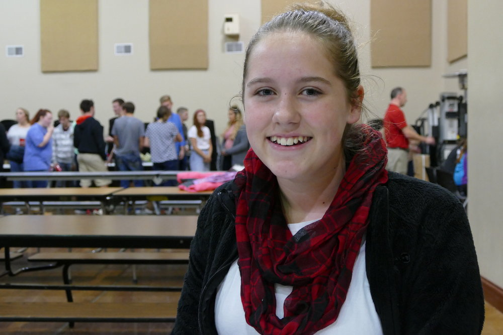 """Whatever God's plan is, our country can fight through any obstacle.""  Ruth Honaker  - 6th grade"