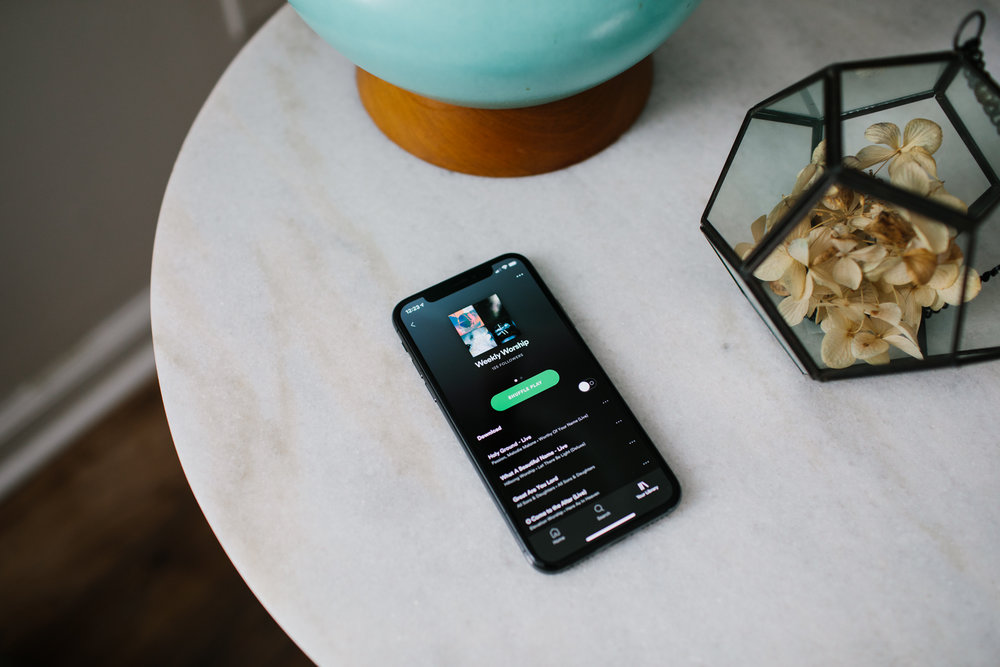 WEEKLY WORSHIP - We have an official Spotify account. You can follow along to our #WeeklyWorship playlist so that you have access to (almost) all of the songs that we sing on Sunday mornings!
