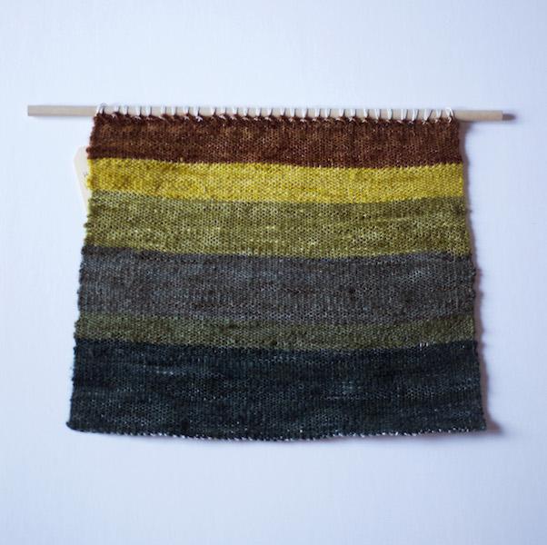Vanessa Ægirsdóttir,  Matanuska 3 , 2016. Wool Tapestry. 10.5 x 13 in.
