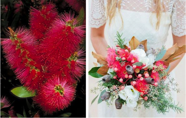 L:  Pinterest  (Source unknown); R:  Brides of Adelaide  | P:  Michelle Fiona Photography