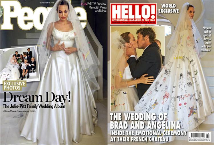 ANGELINA\'S ATELIER VERSACE WEDDING GOWN — LAMARE LONDON | Luxury ...
