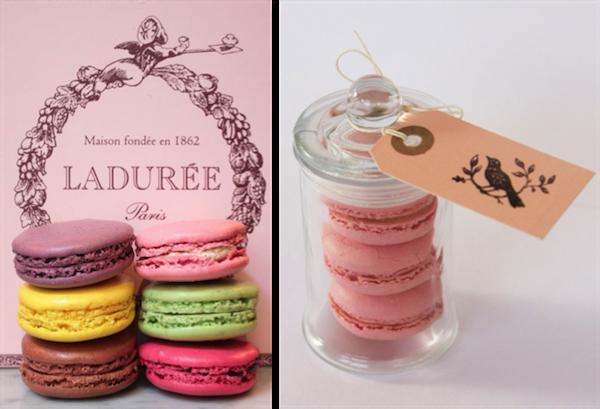 Ladurée: Menabò Parole di Moda ; French jar: Bespoke Bride
