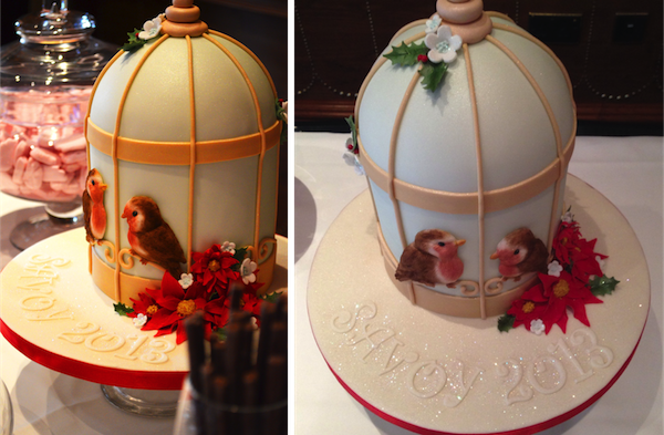 An utterly adorable birdcage cake by GC Couture