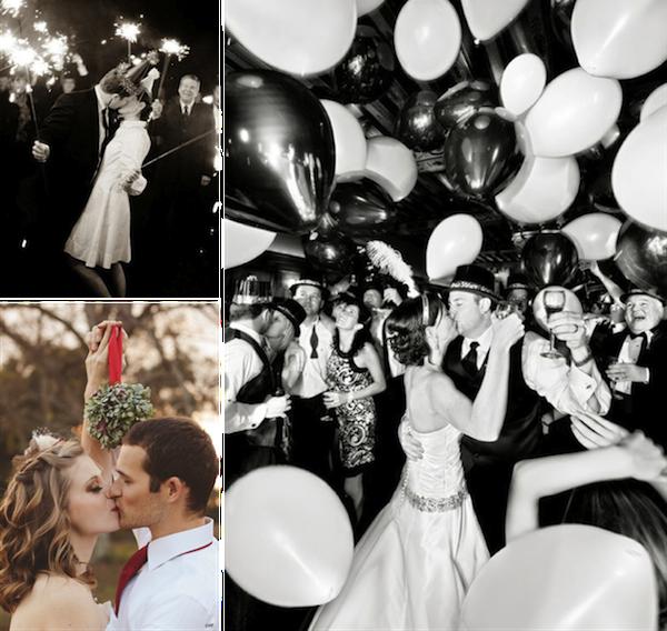 Sparkler: P:Jonathan Canlas PhotographyMistletoe:Emmaline Bride |Bizou BizouNew Year:Marzime Hub Pages