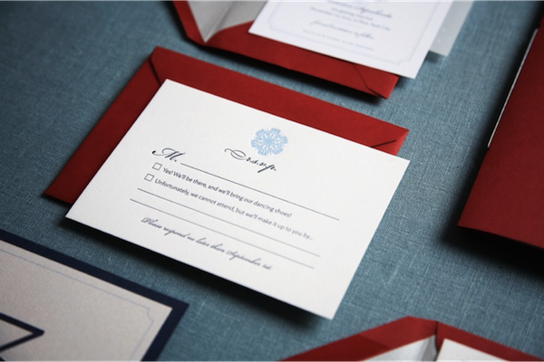 RSVP wedding stationery: Pinterest