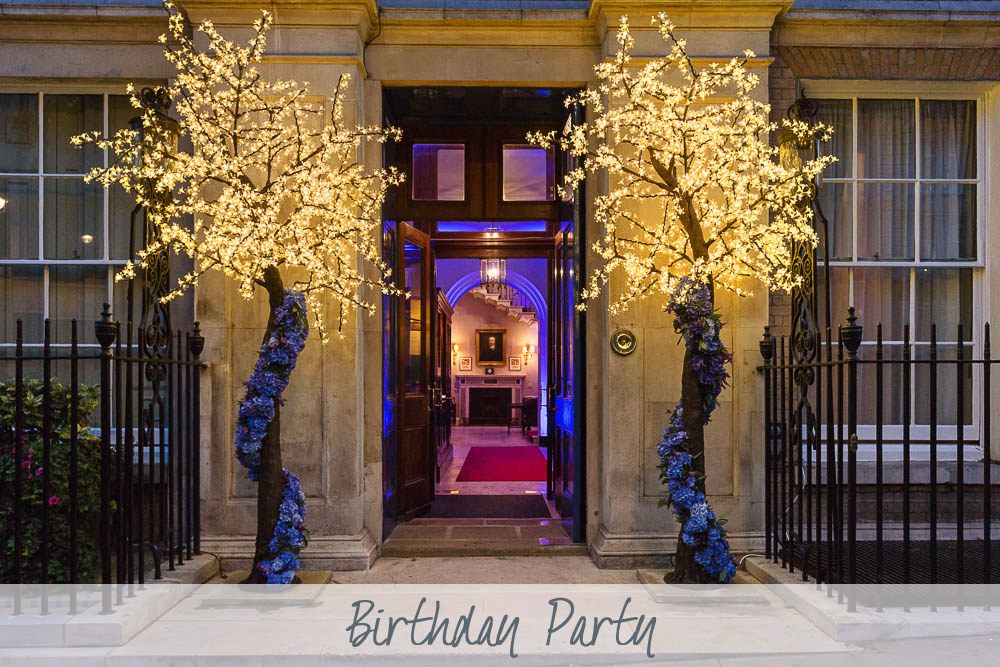 Birthday Party | 70th Birthday Party | Brooks's Club Mayfair | Private Party
