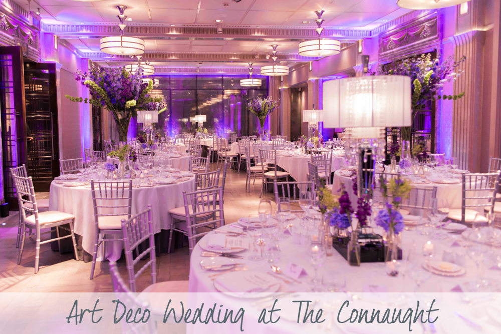 Art Deco Wedding | The Connaught Wedding