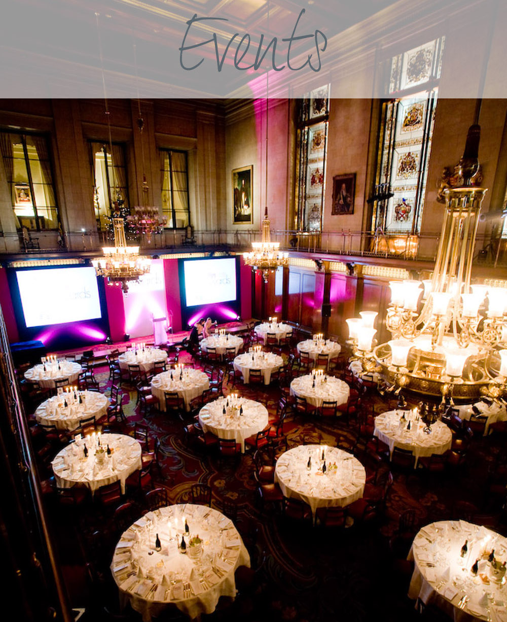 Our Corporate Event planning services can help you with press launches, client entertainment, awards ceremonies, festive celebrations and more.
