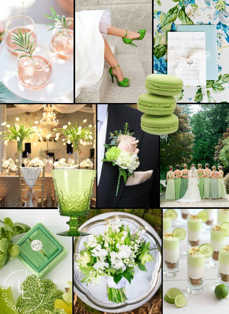 ad0ca95cdda6 Pantone Color of the Year 2017 | Pantone Greenery Moodboard | Wedding  Moodboard | Wedding Inspiration