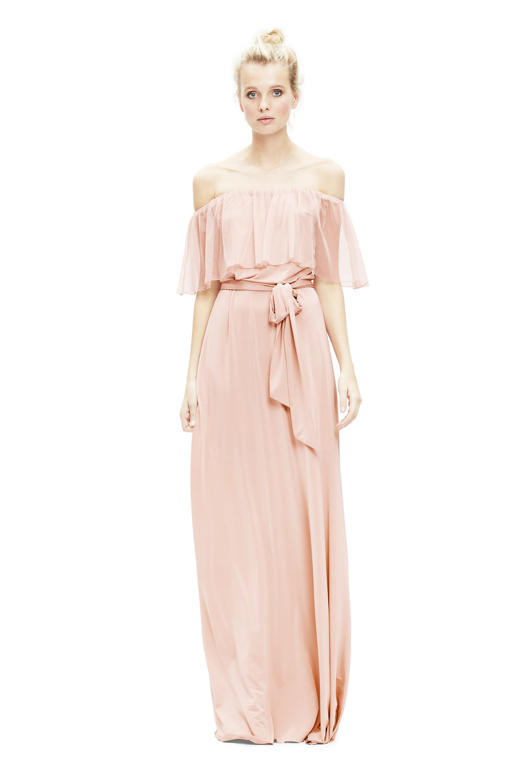 blush-twobirds-bridesmaid-Maya-tulle-dress-off-shoulder | Lamare London | Luxury Wedding Planner London.jpg