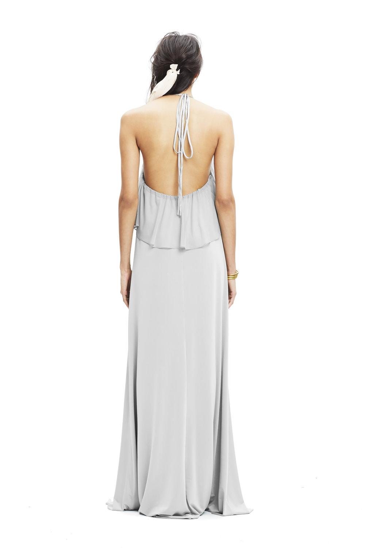 silver-twobirds-bridesmaid-Zoe-tulle-dress-halter-back | Lamare London | Luxury Wedding Planner London.jpg