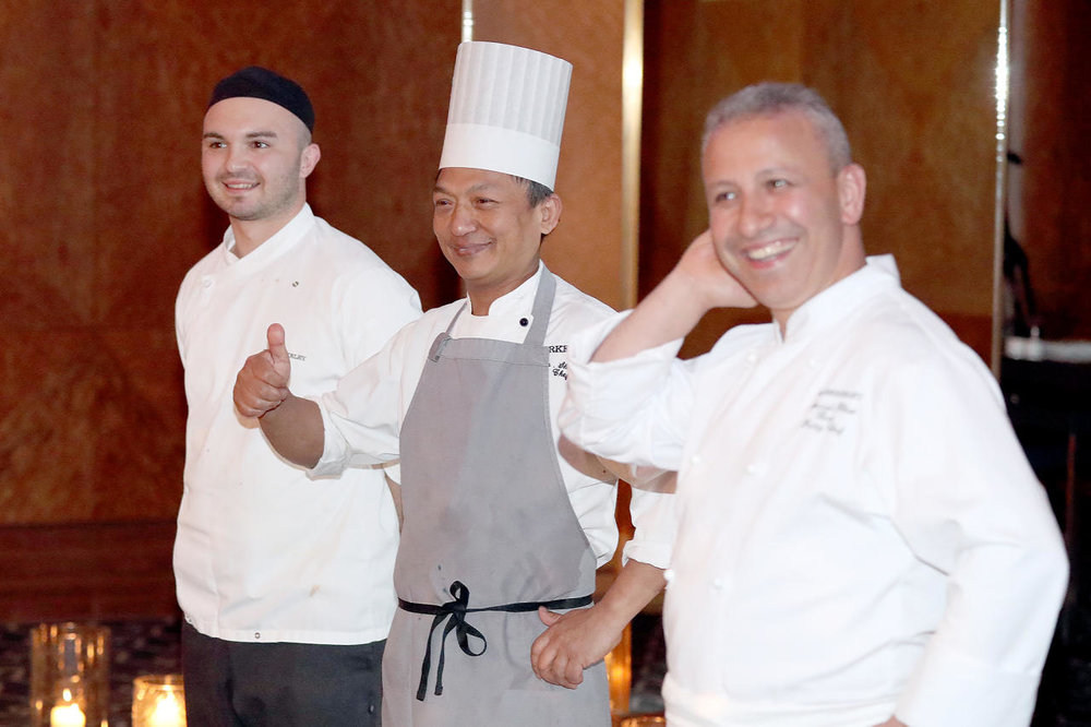 Mourad Khiat, Pastry Chef and his team at  The Berkeley