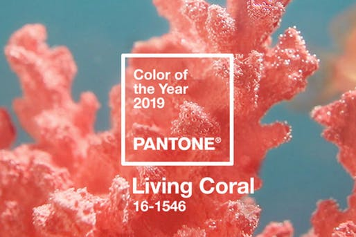 Pantone Colour of the year Living Coral 2019