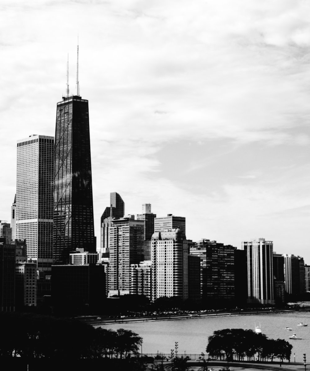 Chicago - in black and white... mostly