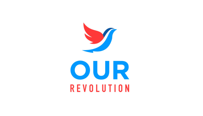 "Our Revolution will reclaim democracy for the working people of our country by harnessing the transformative energy of the ""political revolution."""