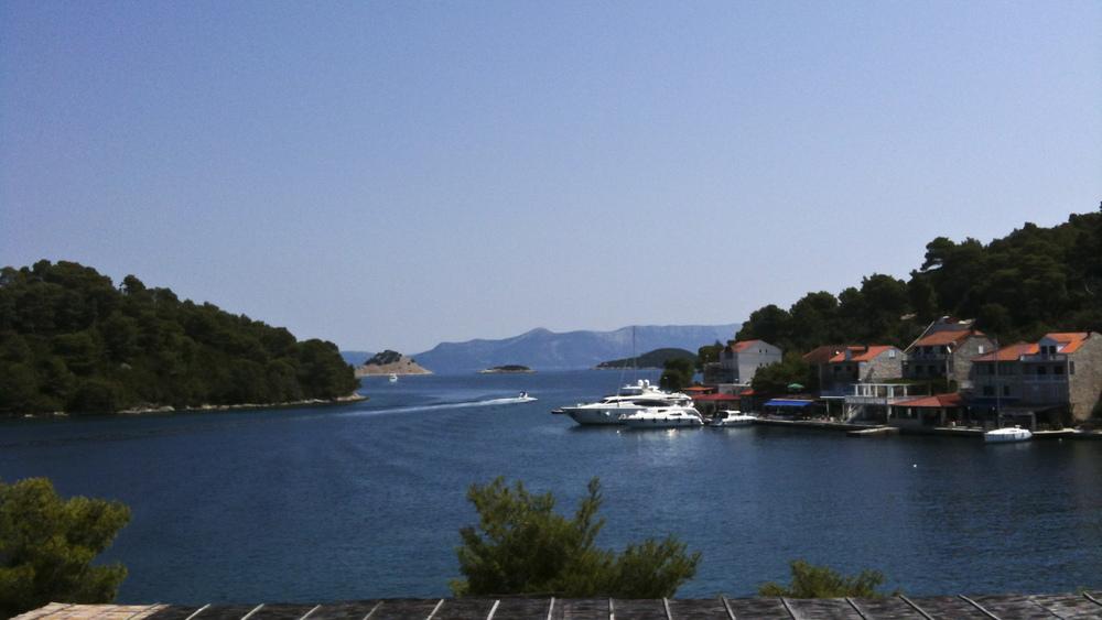 Pomena, Mljet, Croatie  -  Juillet 2012