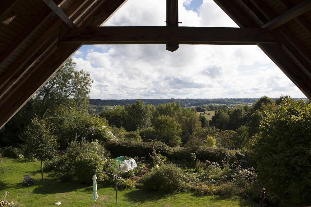 Le Bois-Hellain, Normandie, France  Août 2015