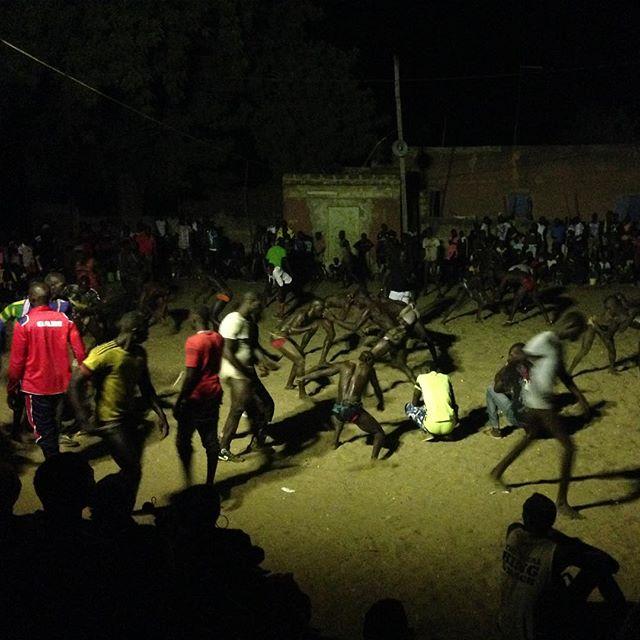 Lutte Sénégalaise, du côté de Palmarin