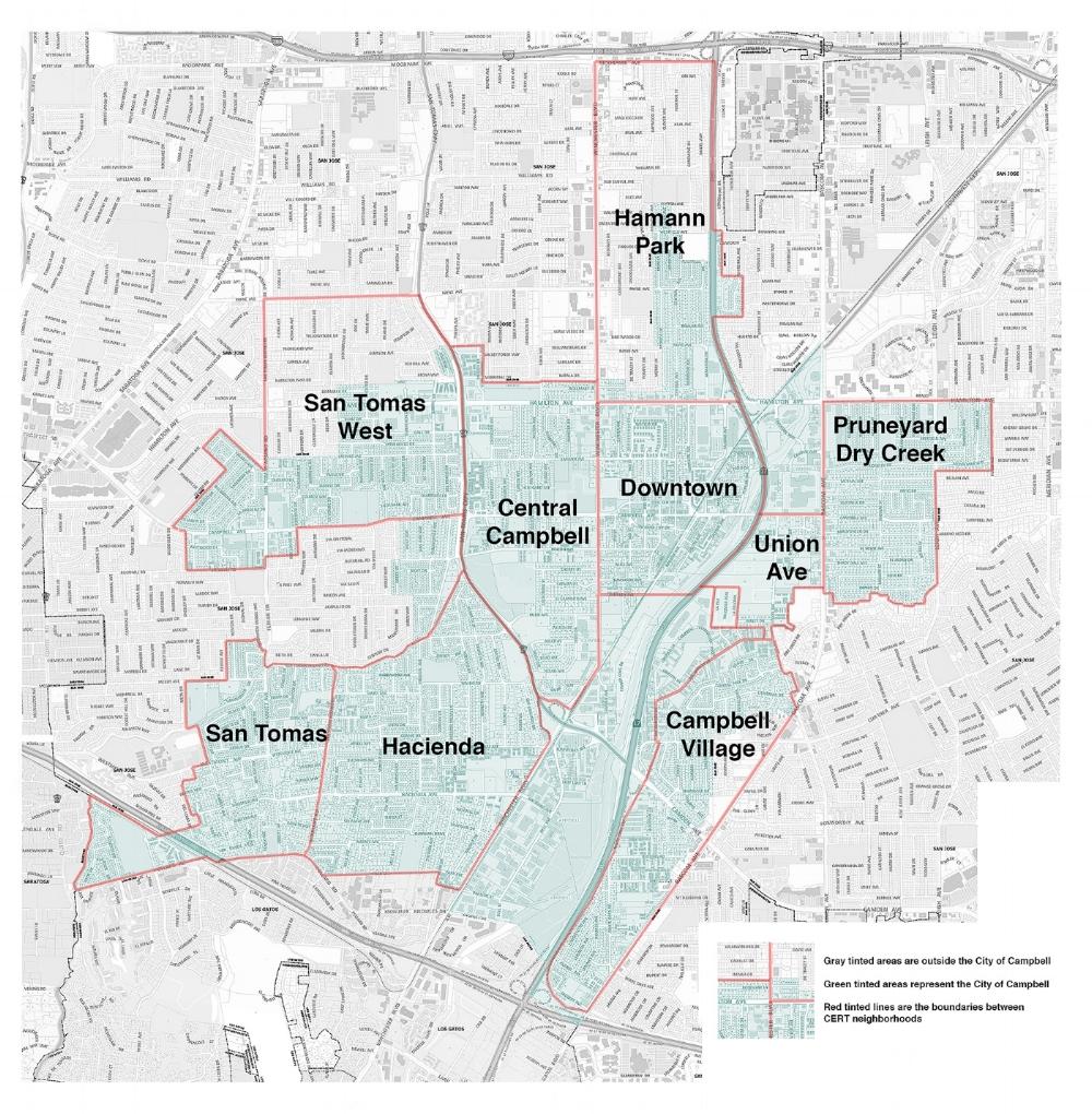 Campbell CERT Map