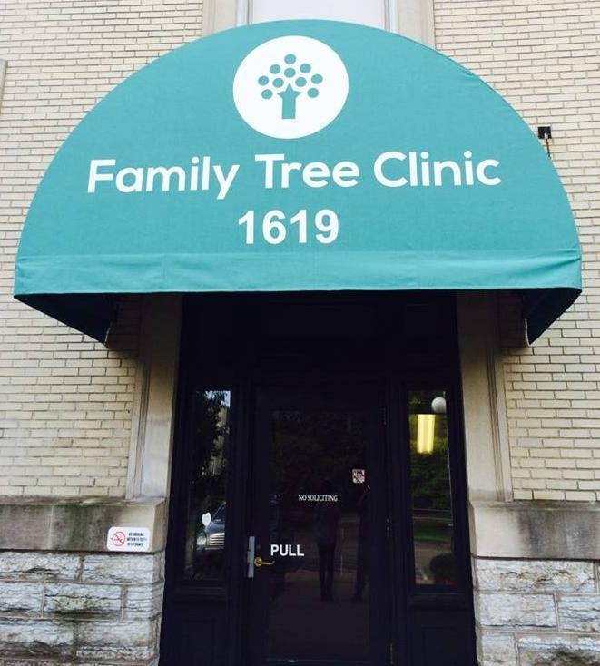Family Tree Clinic Door