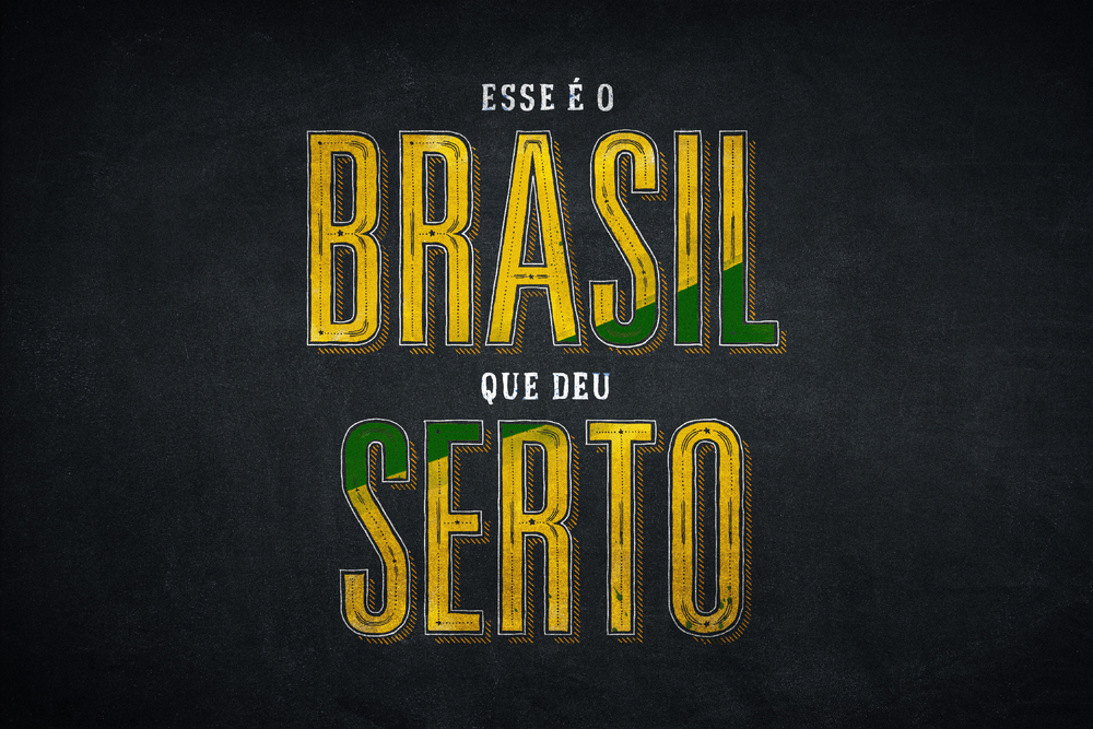 Esse é o Brasil que deu serto.
