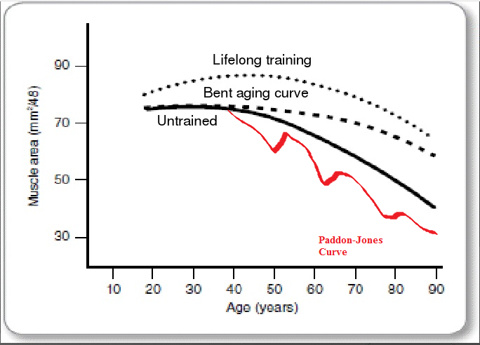 """Graph from """"Bending the Aging Curve,"""" Joseph F. Signorile"""