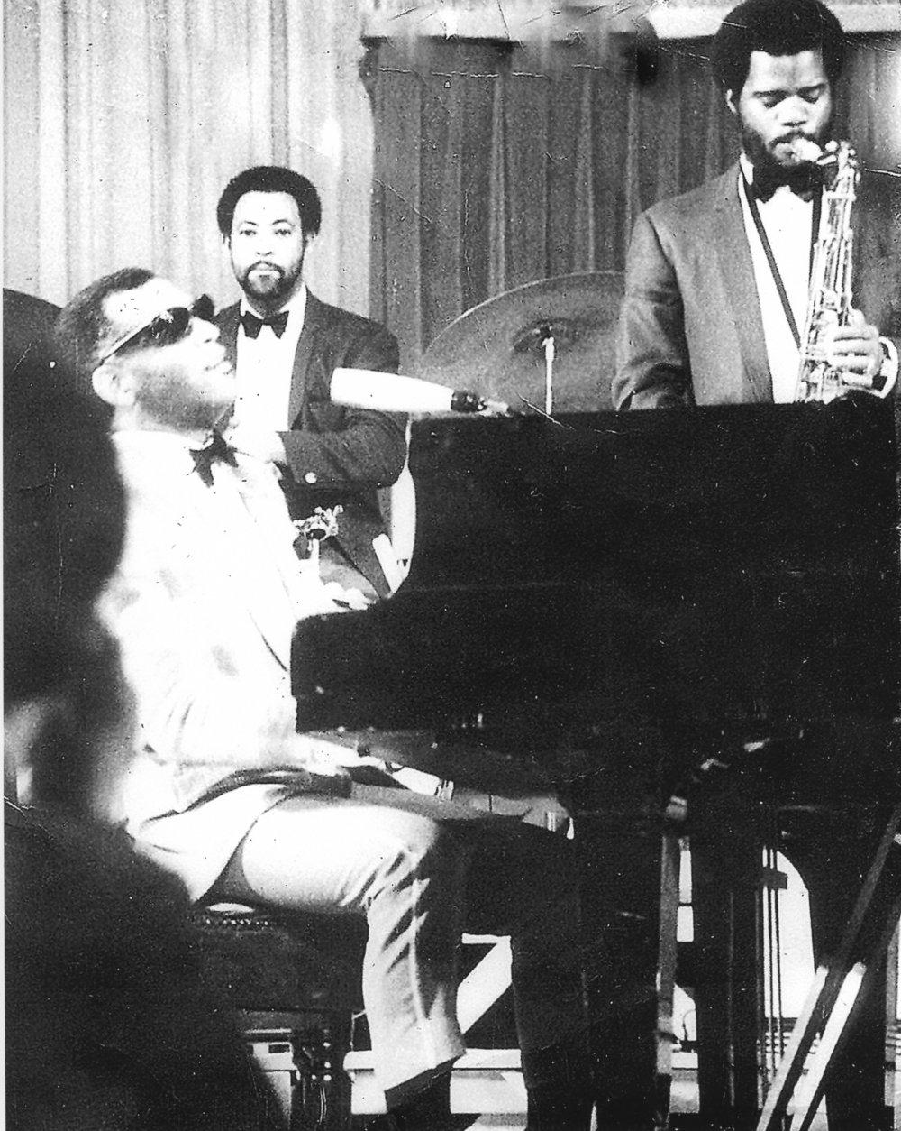 Ray Charles, Ernie Elly and John Cloyd Miller