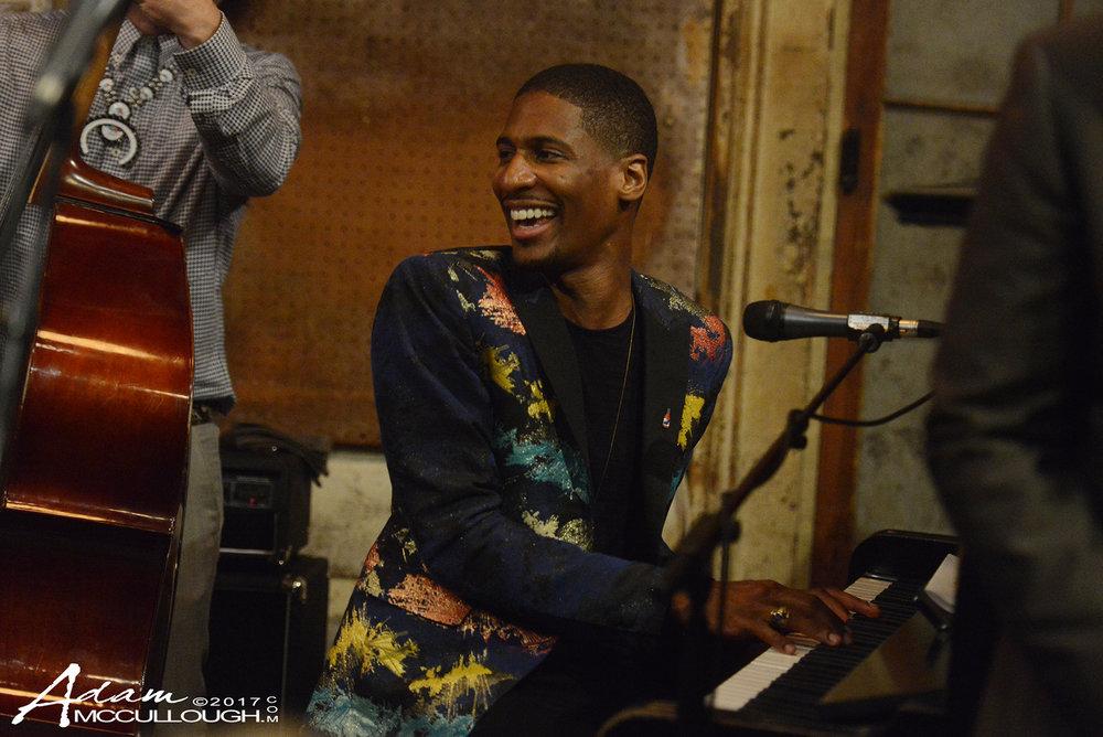 The Preservation Hall Jazz Band & Jon Batiste. Photo courtesy of Adam McCullough