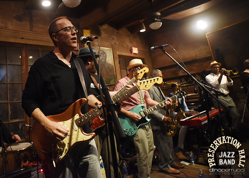moe. &The Preservation Hall Jazz Band. Photo courtesy of Dino Perrucci