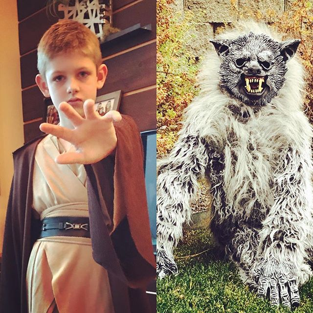 Jedi by day Werewolf by night...