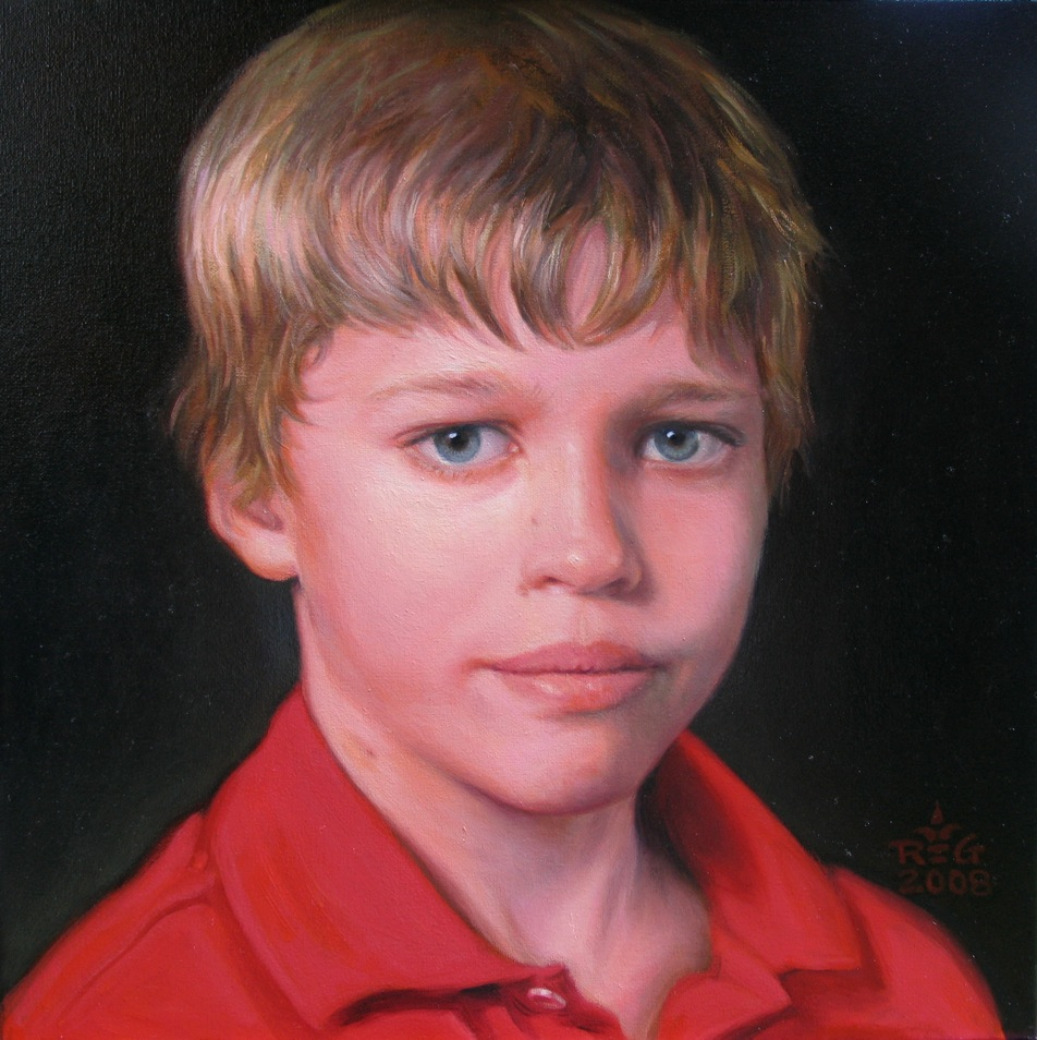 """Jeffrey"", a finalist in ""The Miracle of the Portrait"" competition"