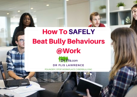 I'm being targeted by a workplace bully, what can I do now