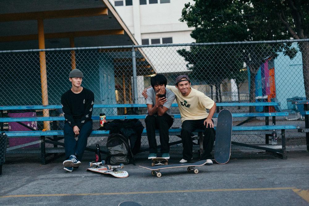 Alex Lobasyuk, Austin Thongvivong, and David Lobasyuk