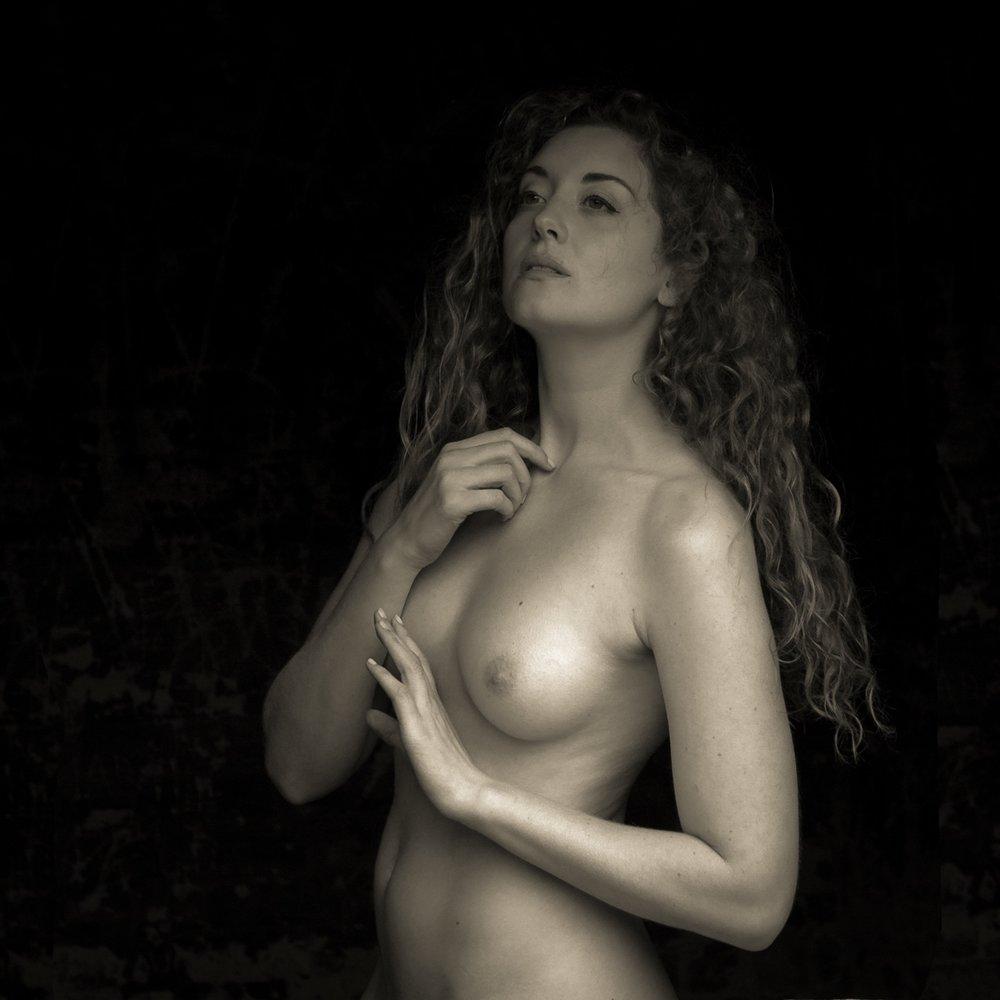 Naked swimming pool tube