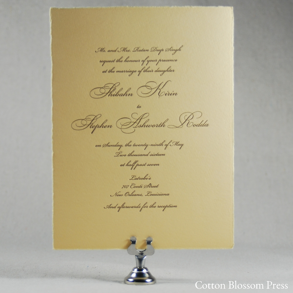 The Invitations Look Beautiful Ann Wedding Planner