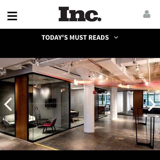 Thank you @incmagazine for showing #khewcornelius artwork for write up on #etsyhq ! #architecture #tech #startup