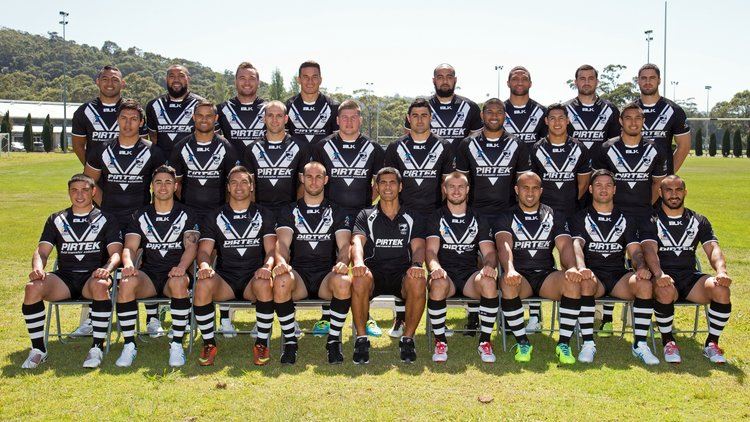 The New Zealand rugby league team (2013)
