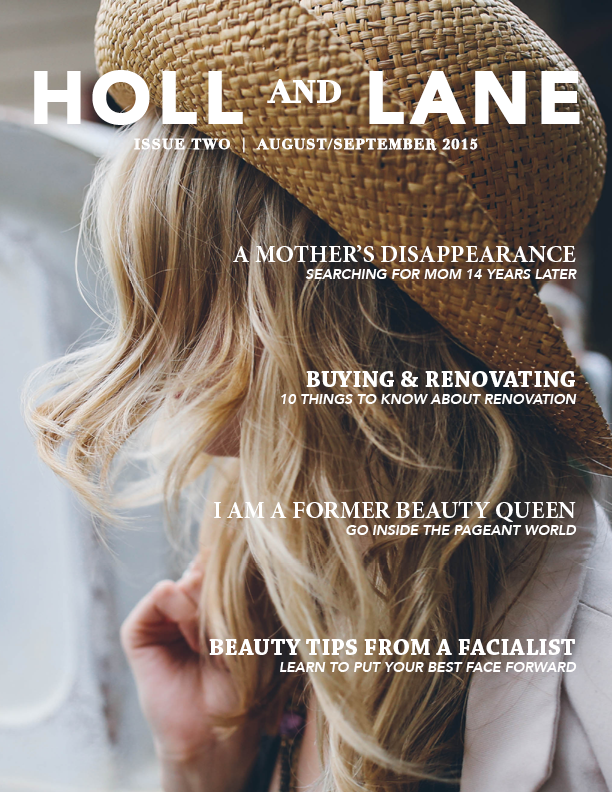Holl & Lane, Issue 2 option cover