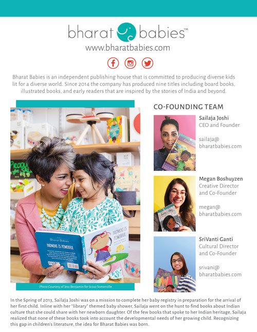 Bharat Babies Media Kit
