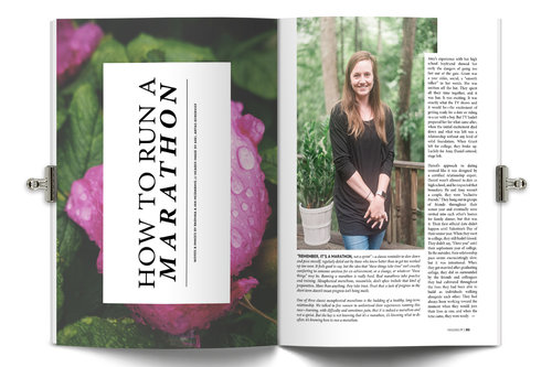 Holl & Lane Magazine Layout
