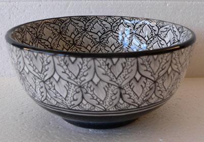 Margherita Black Bowl