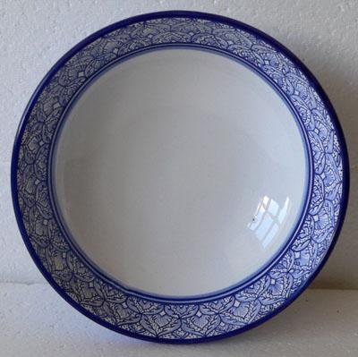 Margherita Blue White Centre