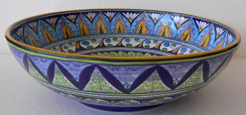 Antonella Blue Bowl