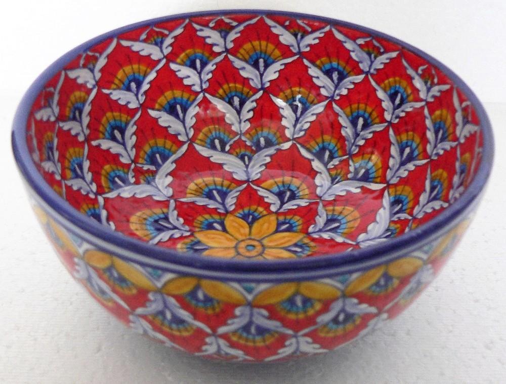 Elena Red Bowl
