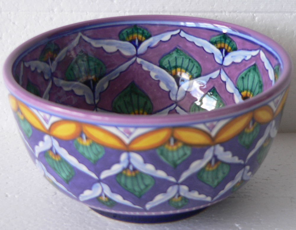 Elena Purple-Lavender Bowl