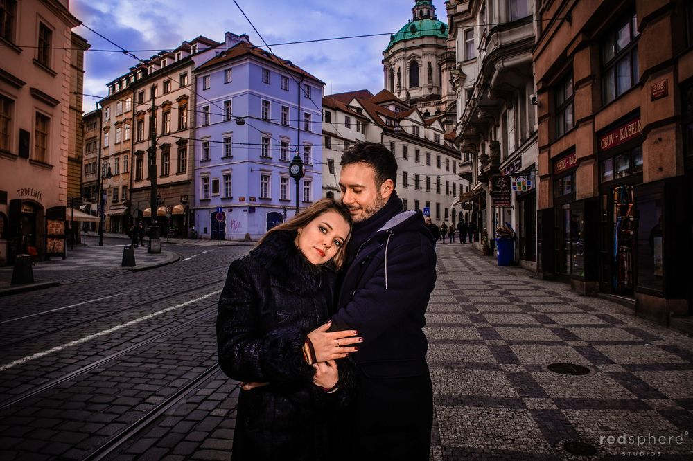 Engagement inthe Streets of Prague